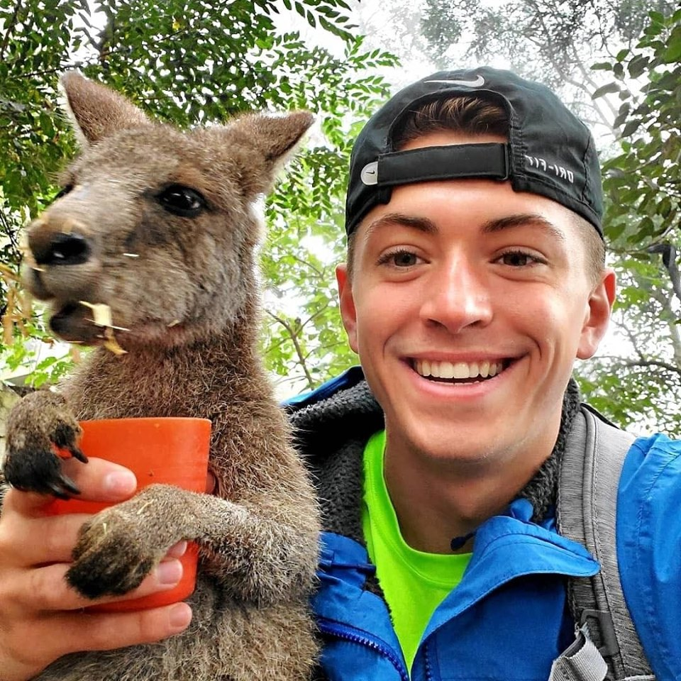 From his Facebook, Haney shows off his Australian adventure.
