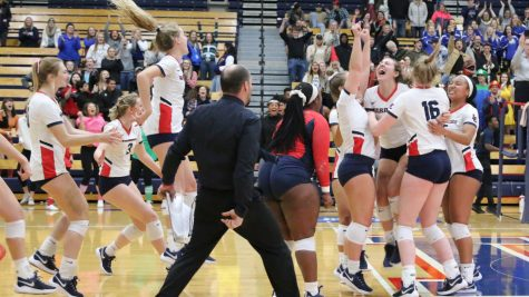 Warrior volleyball breaks into the national ranking
