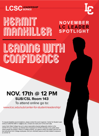 First leadership series guest: Kermit Mankiller
