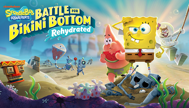 SpongeBob+SquarePants%3A+Battle+for+Bikini+Bottom+Rehydrated