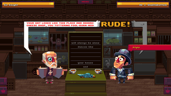 Oh Sir!.... The Insult Simulator